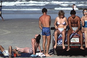 Who 'Owns' The Beach? In Daytona, Cars, Turtles And Hotels Duke It Out
