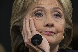 Clinton Endures An 11-Hour Grilling Before Benghazi Commi...