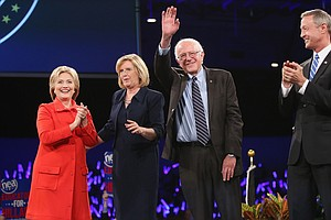 Democratic Candidates Throw Shade, But Avoid Calling Each Other Out