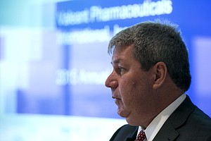 Valeant Says It Will Cut Ties To Specialty Pharmacy Amid Fraud Allegations