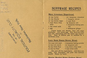 How Suffragists Used Cookbooks As A Recipe For Subversion