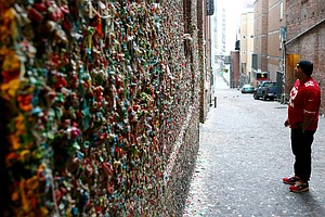 Sticky Situation: Seattle's Famous Gum Wall To Be Melted ...