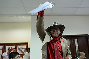 In Philippines' Presidential Race, A Chaotic Cast Of Char...