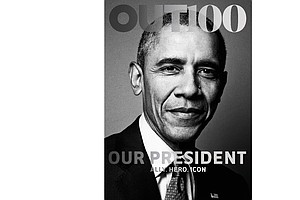 Obama Featured On The Cover Of LGBT Magazine 'Out'