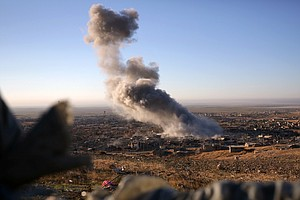 Kurdish Forces In Iraq Begin Offensive Against Islamic State In Sinjar
