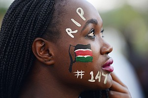 Why Didn't The World Say 'We Are All Kenyans' Last April?