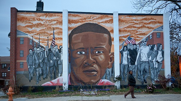 Baltimore residents wary as freddie gray trials slated to for Baltimore mural program