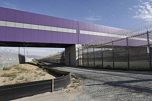 New Airport Bridge Spanning U.S.-Mexico Border Opens