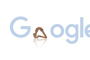 Bend It Like Iyengar — That's The Message Of Today's #Goo...
