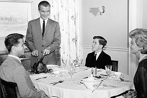 'No Place For Discontent': A History Of The Family Dinner In America