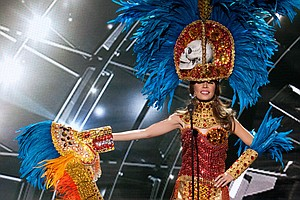 Another Burning Miss Universe Query: Why Did Miss Honduras Wear Skulls?