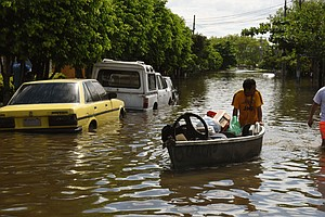 Floods In Paraguay, Argentina And Uruguay Displace Tens O...