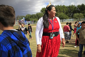 A 'Wisdom Keeper' Draws From A Deep Well Of Navajo Culture