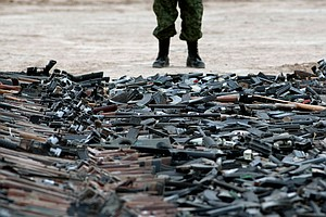 In Mexico, Tens Of Thousands Of Illegal Guns Come From The U.S.