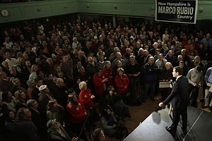 Signs Of 'Marco-mentum' For Rubio In New Hampshire