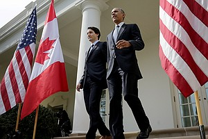 U.S., Canada Announce Shared Goals For Fighting Climate C...