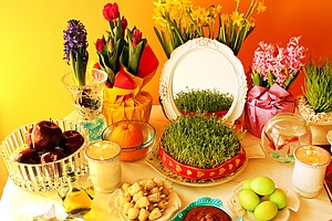 Nowruz: Persian New Year's Table Celebrates Spring Delici...