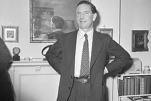 Rare Film Emerges Of Double-Agent Kim Philby Speaking Aft...