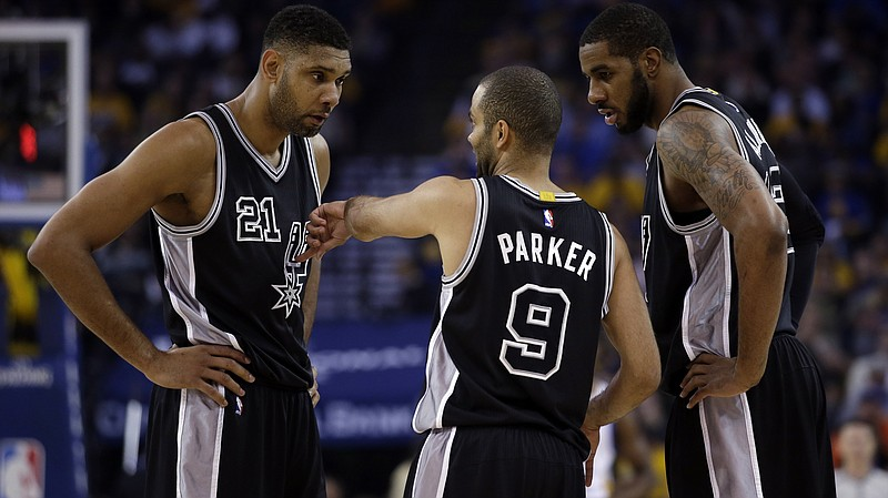 Photo caption  The San Antonio Spurs are just two home wins away from being  the fbeca11a6
