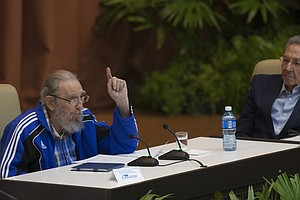 At Party Congress, Fidel Castro Speaks Of His Mortality