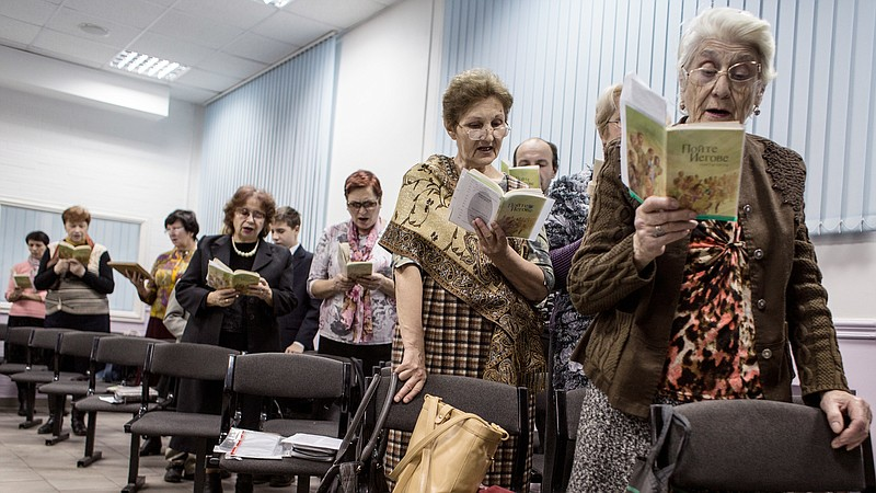 Russia's Jehovah's Witnesses Fight 'Extremist' Label