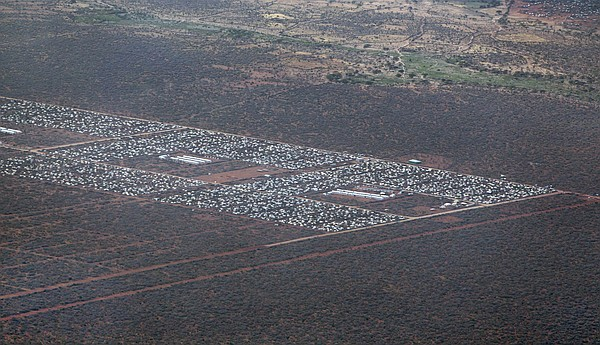 Parts of Dadaab, the world's largest refugee camp, are se...