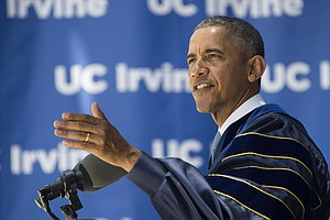 A Portrait Of The President, One Commencement Speech At A...