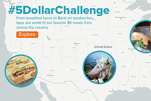 #5DollarChallenge: We Mapped Out The Best Meals You Can Buy For Five Bucks Or...