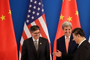 A Rocky Time In U.S.-China Relations As Leaders Meet In B...
