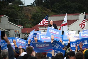 At San Francisco Rally, Bernie Sanders Supporters Begin To See Different Future