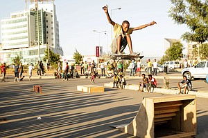 How Do You Say 'Gnarly' In Amharic? Ethiopia Gets Its First Skate Park