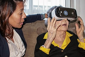 Virtual Reality Aimed At The Elderly Finds New Fans