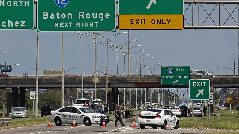 3 Law Enforcement Officers Killed In Attack In Baton Rouge