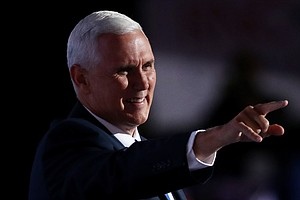 Pence Makes The Case For Trump After Cruz Is Booed
