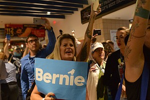 'They Cannot Silence Us': Sanders Supporters Protest Afte...