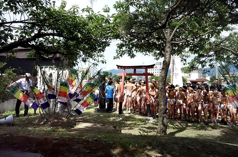 Japanese Naked Festivals Keep Centuries-Old Tradition -6413
