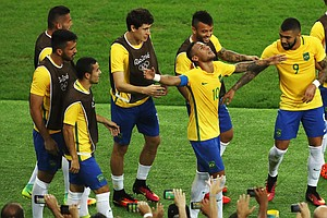 Brazil Beats Germany On Penalty Kicks, Winning First Olym...