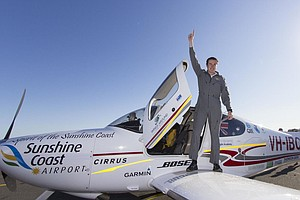 Teen Pilot Claims World Record In Round-The-Globe Solo Trip