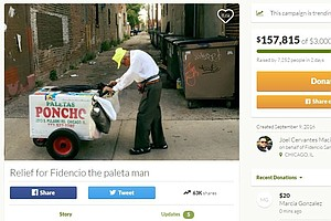 Strangers Raise $165,000 In 3 Days To Help Chicago Popsicle Vendor, 89