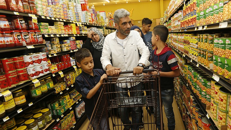 Nadim Fawzi Jouriyeh, a Syrian refugee who arrived in the United States in Au...