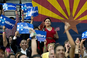 Arizona Newspaper Breaks With Tradition, Backs Clinton