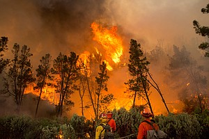After Record Heat, California Fires Burn Into The Fall
