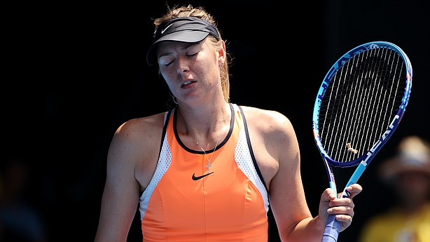 Sponsor tweets 'congratulations' to Maria Sharapova after ban reduced