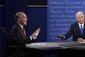 WATCH: 5 Top Moments From The Vice Presidential Debate