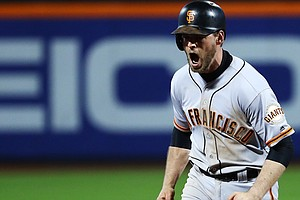 San Francisco Beats New York Mets In Baseball's National League Wild-Card Game