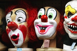 Coulrophobics Beware: America's Creepy Clown Problem Continues