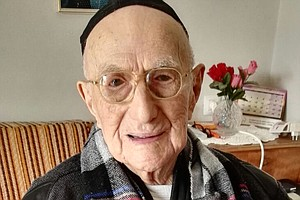 World's Oldest Man Celebrates His Bar Mitzvah 100 Years Late