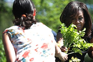 Michelle Obama's Kitchen Garden Will Keep Blooming, Even After She Leaves