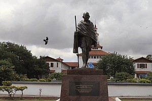Ghana Wants To Remove Statue Of Gandhi Over Racism Contro...