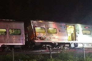 Long Island Rail Road Passenger Train Derails; More Than 30 Injured After Col...